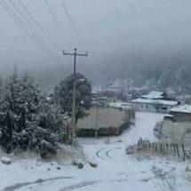 Continuarán bajas temperaturas en territorio oaxaqueño
