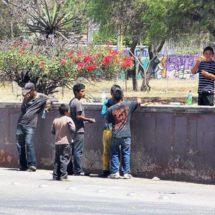 Niños de la calle, «basurita» en el ojo de Oaxaca