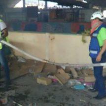 Primero dañado por sismo y ahora se quema mercado de Juchitán