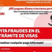 Alerta IOAM sobre trámites falsos de visas a EE.UU