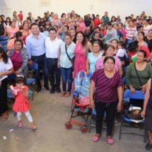 Santa Lucía del Camino avanza en desarrollo social, con la ampliación del programa PROSPERA: Raúl Cruz.
