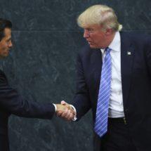 """Trump y Peña Nieto se reunirán """"en las próximas semanas"""""""