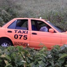 Asesinan a conductor del taxi 075