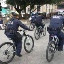 Presencia de policías en bicicleta en parques y zonas de recreación dan más seguridad a la ciudadanía
