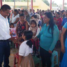 Continúa Dávila acciones en beneficio de colonias y comunidades de Tuxtepec