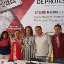 Hilda Luis se suma a las filas de la organización Mujeres de Hierro