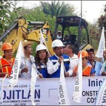 Realizará gobierno de Ojitlán dos techados en escuelas