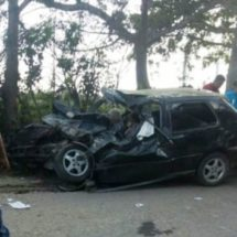 Mueren 4 personas en trágico accidente