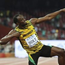 Usain Bolt anunció que fichó en un equipo de fútbol