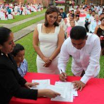 Alista DIF Jacatepec bodas colectivas 2018