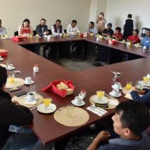 Congreso atiende a autoridades de comunidades oaxaqueñas