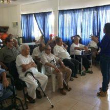 Regiduría de Equidad llevó pláticas y alegría a abuelitos en Asilo de Ancianos