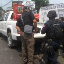 PARTICIPA POLICÍA ESTATAL EN OPERATIVO DE APOYO A LA PGR