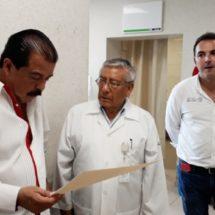 Por gestión del secretario Eviel Pérez Magaña se climatizará el área de urgencias del Hospital General