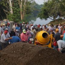 Paso Rincón se volcó en apoyo al Gobierno Municipal de Tuxtepec