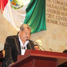 Pide diputado Juan Bautista Olivera al Ejecutivo Estatal nombrar a titulares en dependencias acéfalas