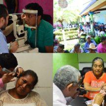 Más de 450 personas atendidas… Éxito y grandes beneficios durante consultas de especialidades médicas en el DIF Tuxtepec