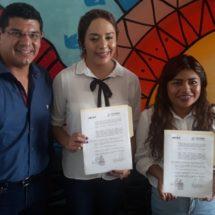 Firma convenio de vinculación el Instituto Municipal de la Juventud de Tuxtepec y el Instituto de Durango