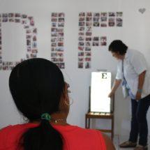 Todo un éxito la jornada de salud visual; DIF Ojitlán