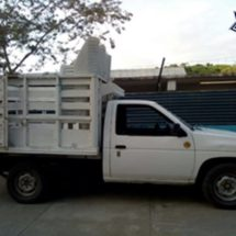 Policías Estatales aseguran camioneta con reporte de robo