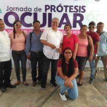 DIF Tuxtepec solidario con beneficiarios de prótesis