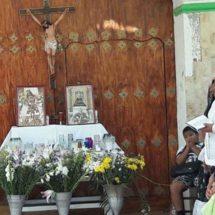 Celebran el Lunes Santo en Laborío, Oaxaca