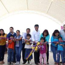 Alejandro López Jarquín dignifica espacios de la colonia Lomas de Santa Cruz