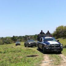 RECUPERA POLICÍA ESTATAL EN COORDINACIÓN CON LA SEDENA, CAMIONETA CON REPORTE DE ROBO EN SAN JUAN GUICHICOVI: SSPO