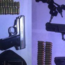 POLICÍA ESTATAL DETIENE A DOS SUJETOS ARMADOS Y RECUPERAN VEHÍCULO CON REPORTE DE ROBO