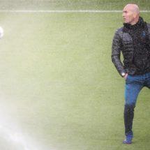 Zidane y su trébol de cuatro hojas