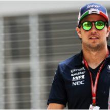 Piloto mexicano Pérez quiere sacarse la espina de Bahréin en Shanghái