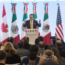 EE UU, México y Canadá encaran la recta final de la negociación del TLC