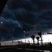 Sorprende granizada en Cancún; ¿no existe el cambio climático?
