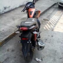 AEI asegura una motocicleta robada