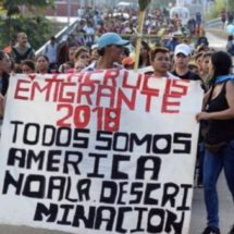 Continúa su trayecto la Caravana de Migrantes Centroamericanos