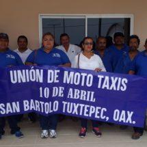 Taxista y transportistas quieren tomar decisiones que no les corresponden en San Bartolo