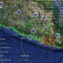 Amanecen habitantes de Oaxaca entre sismos