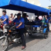 Con amenazas taxistas pretenden amedrentarnos: Francisco Rubena