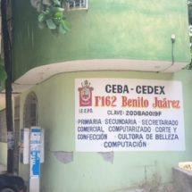 Por daños en inmueble CEBA-CEDEX brinda sus servicios en el salón «Los Manzanos»