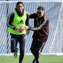 Con rotaciones de Osorio, Chuy Corona ve posible debutar en un Mundial