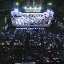 Brillante concierto de Banda Sinfónica y Coro de la Secretaría de Marina en Salina Cruz