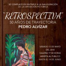 Casa de la Cultura y Gobierno Municipal expondrán obra pictórica de Pedro Alvízar