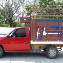 AEI asegura camioneta indocumentada