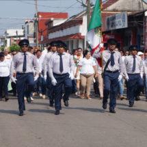 Autoridades Municipales de Tuxtepec marchan con sus trabajadores sindicalizados