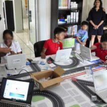 Realiza IEEPO jornada de capacitación en robótica con alumnos de educación primaria