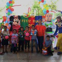 Celebró DIF de Ojitlán el día del Niño