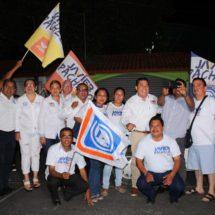 Inicia campaña Javier Pacheco Villaseñor