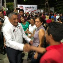 Andrés Santiago Parada inicia campaña rumbo a la presidencia municipal