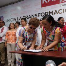Con mi gobierno, pondremos a Tuxtepec tan alto como una capital: Karina Barón