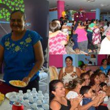 Conviven madres de familia de estancias del DIF Tuxtepec